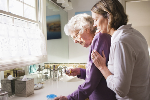 understanding their changing roles and relationship with elderly parents